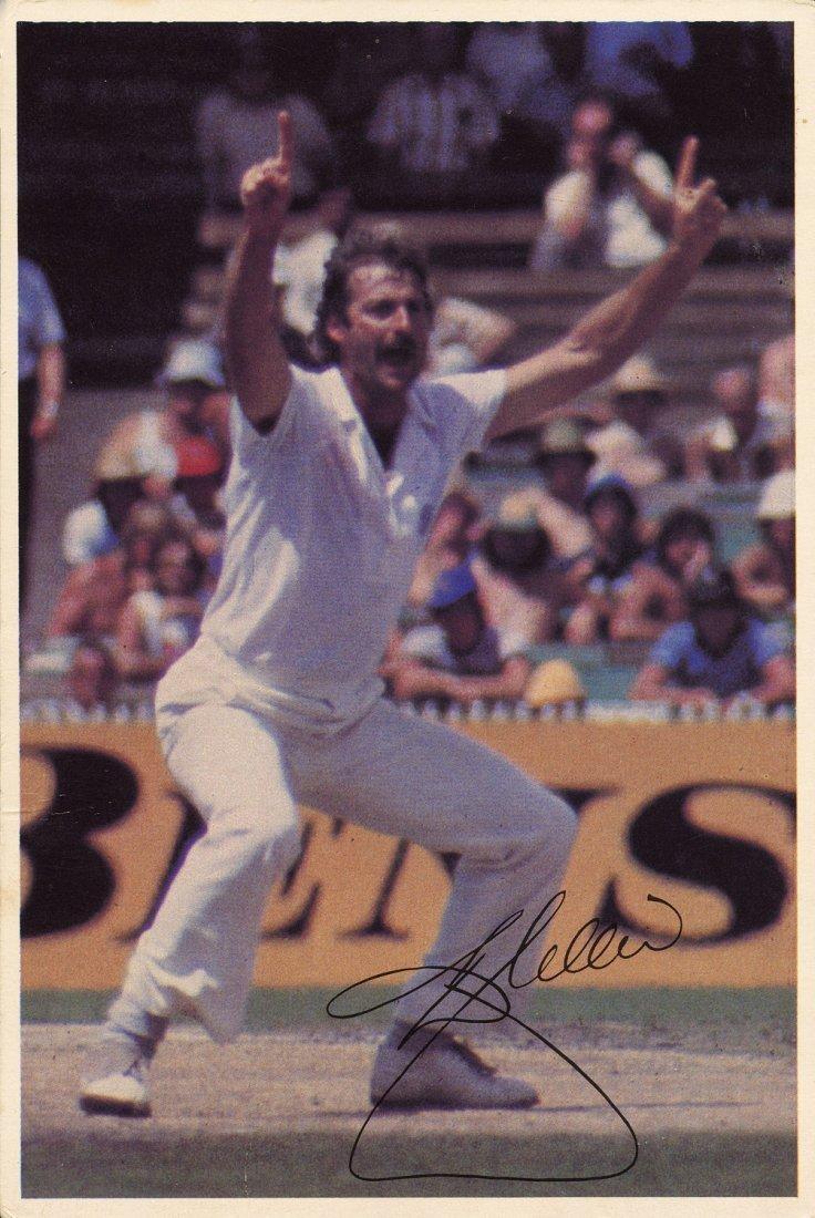 "1980-81 cricket cards, noted 1981 Scanlens ""Cricket"