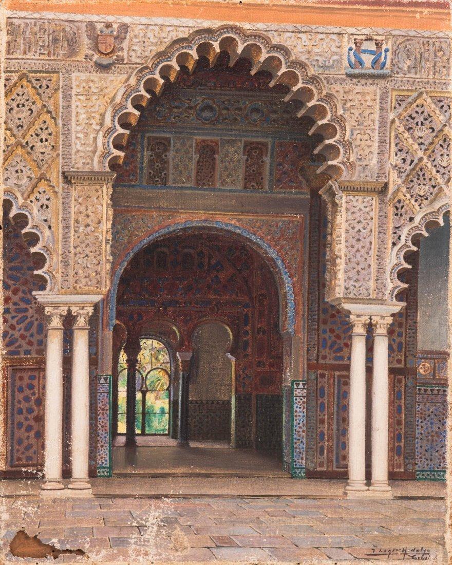 Artist Unknown, Byzantine Entranceway, Orientalist