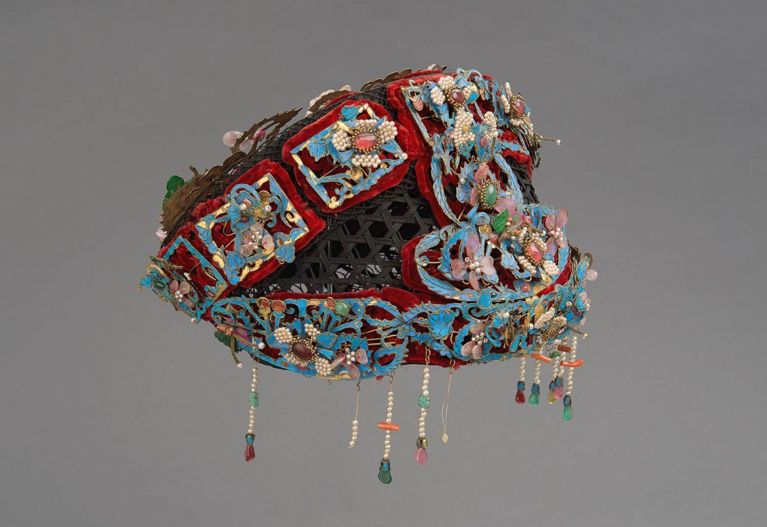 A highly-elaborate Chinese headdress, late Qing