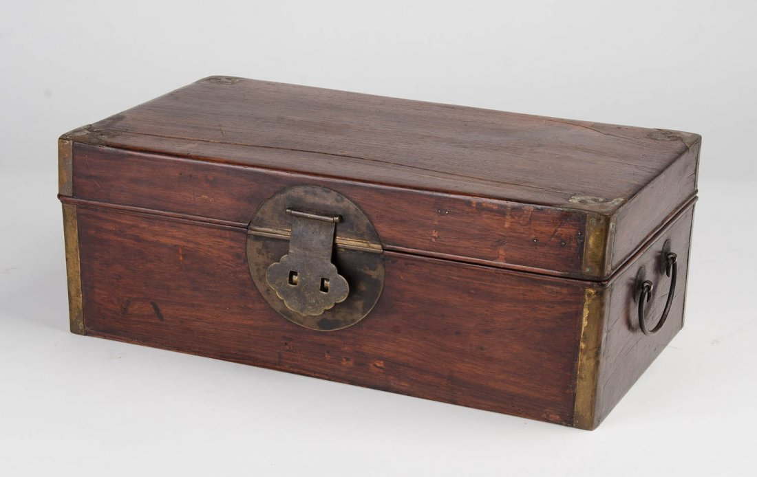 A Huanghuali document box, 17th/18th century