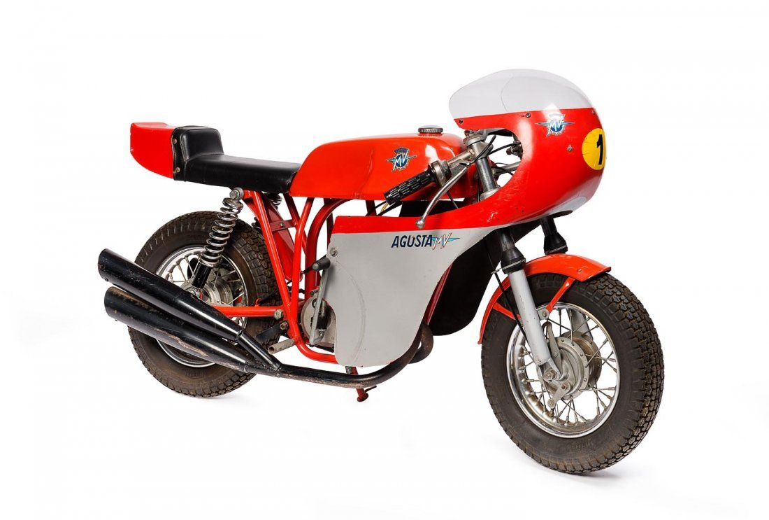 C. 1976 M.V. Agusta Mini Bike racing Versione 10""
