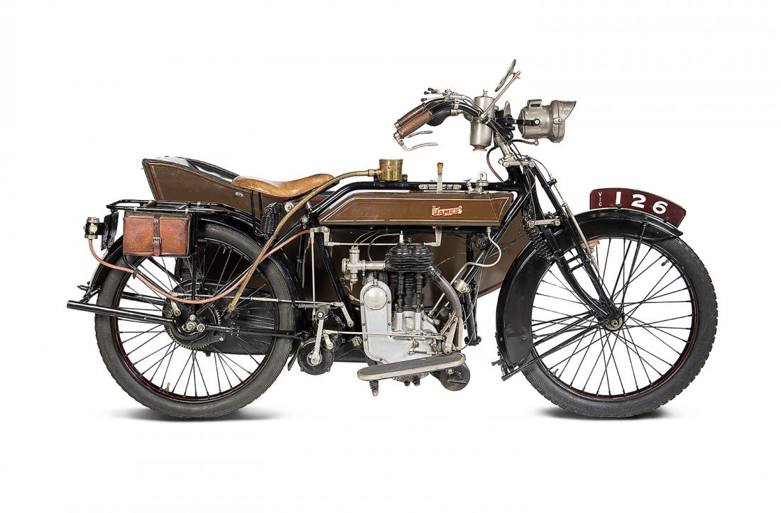 1915 James 600cc 4 ¼ HP side car