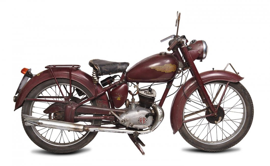 C. 1952 Royal Enfield 125cc