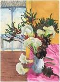 DONALD STUART LESLIE FRIEND (1915-1989) Spring Flowers
