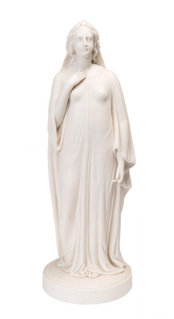 A VictorianParian porcelain figure of Beatrice