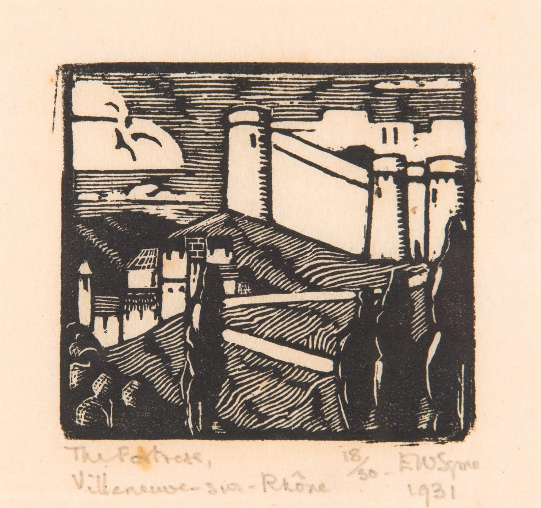 EVELINE W SYME (1881-1961)  The Fortress,