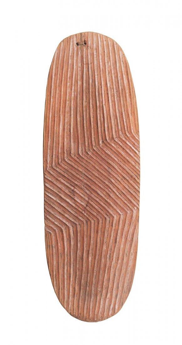A Wunda shield, west Australian origin, with old fiber
