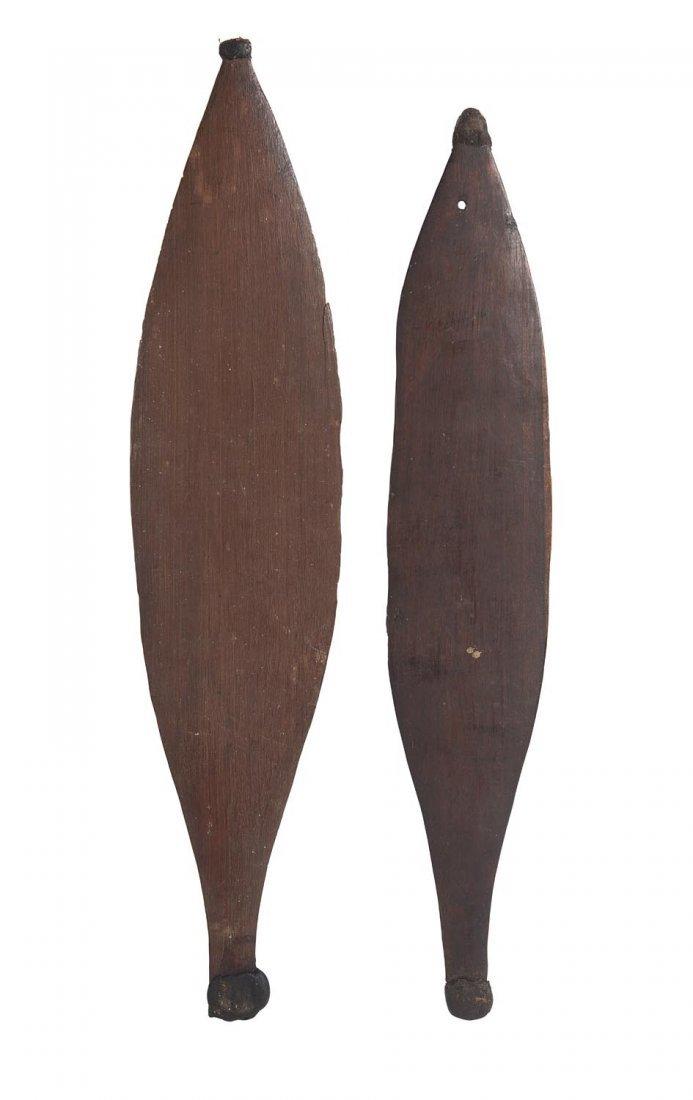 Two rare Woomeras, North West, Western Australian