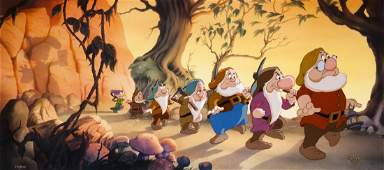 "Snow White ""Seven Dwarfs - Hi Ho Hi Ho"" Disney Limited"
