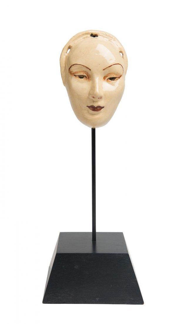 Marguerite Mahood (1901-1989) A hand modelled glazed