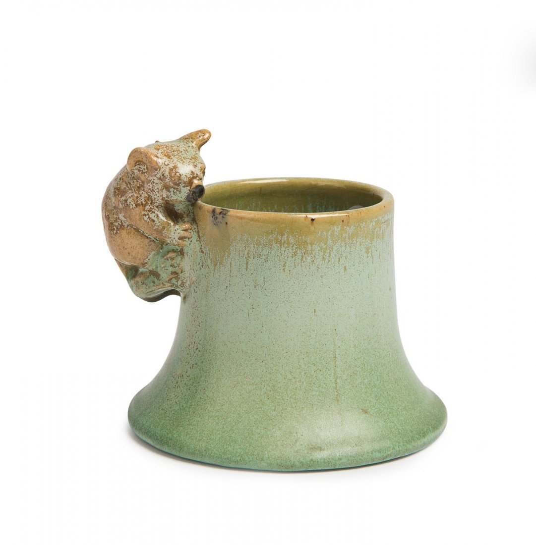 Remued Pottery  A small glazed earthenware koala
