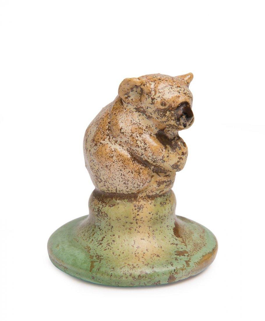 Remued Pottery  A glazed miniature koala figure