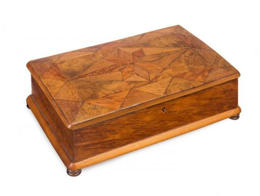 William Norrie New Zealand Inlaid Timber Box Burr Nov 08 2015 Mossgreen Auctions In Australia