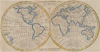 A New Map of the World with the Latest Discoveries