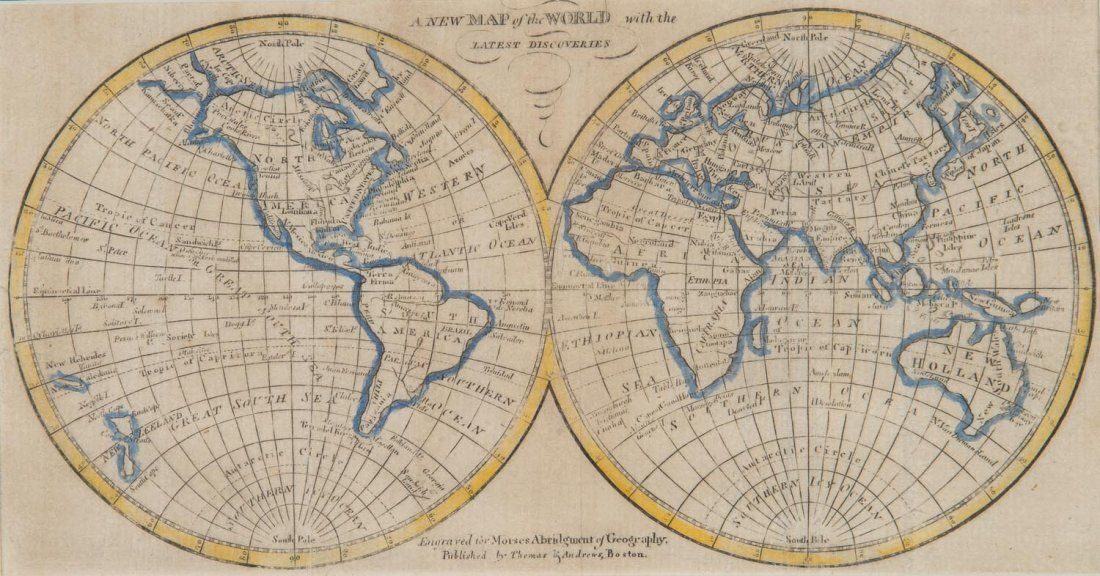 """""""A New Map of the World with the Latest Discoveries"""""""