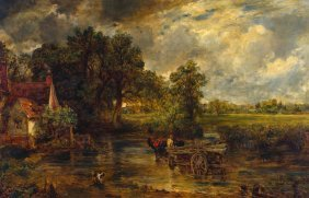 After John Constable (born 1941)the Hay Wainoil On