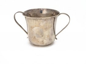 A George Iii Sterling Silver Two Handled Cup,