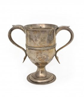 A George Iii Sterling Silver Two Handled Cup By Peter,