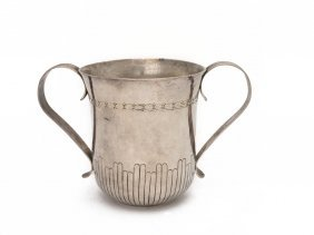 A George Iii Sterling Silver Two Handled Cup By William