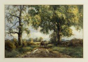 David Cox Junior The Hay Cart