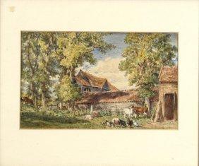W Parrott Old Farm At Highgate