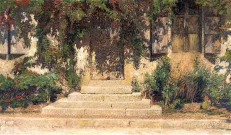 HENRI MARTIN (FRENCH, 1860-1943) (Devant de Porte, en