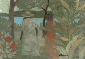 Ray Crooke (1922-2015) By The Lake
