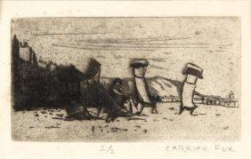 Ethel Carrick Fox (1872-1952) Deck Chairs Deck Chairs