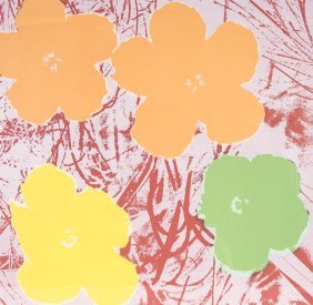 After Andy Warhol Flowers