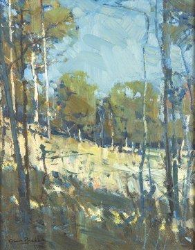 Glen Preece (born 1957) Sunlight And Shade 1983