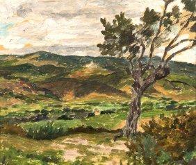 Rupert Bunny (1864-1947) Landscape C. 1930