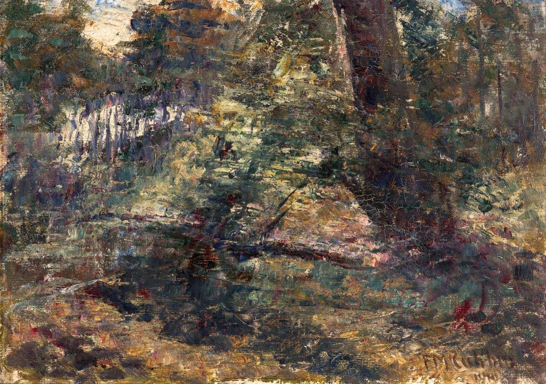 FREDERICK McCUBBIN (1855-1917)  Bush Landscape 1910