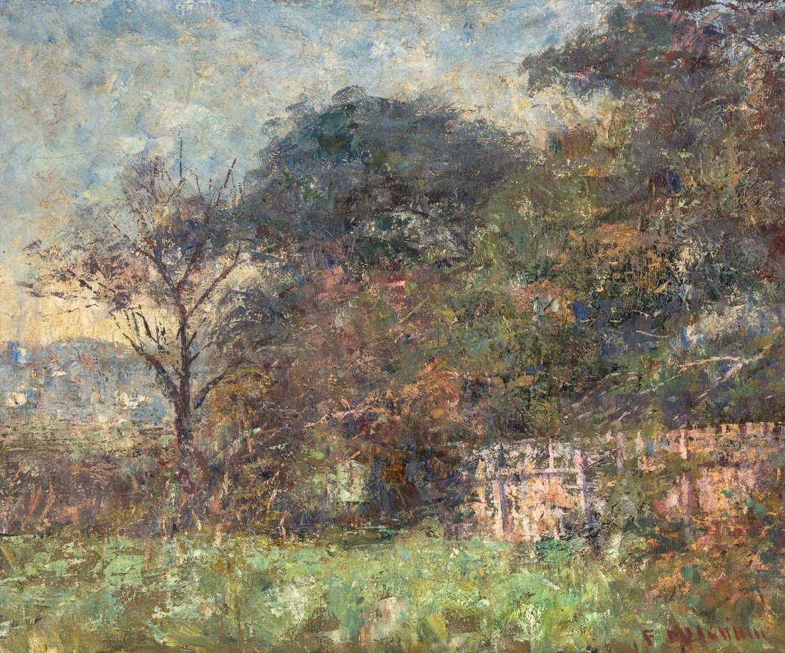 FREDERICK McCUBBIN (1855-1917)  Landscape, South Yarra