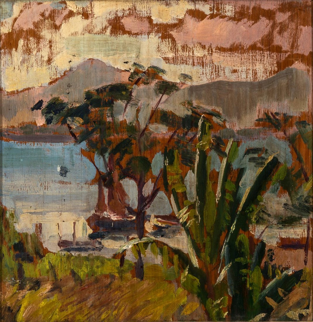 Rex Thomas Percy Reginald Wood (1908-1970)  On the