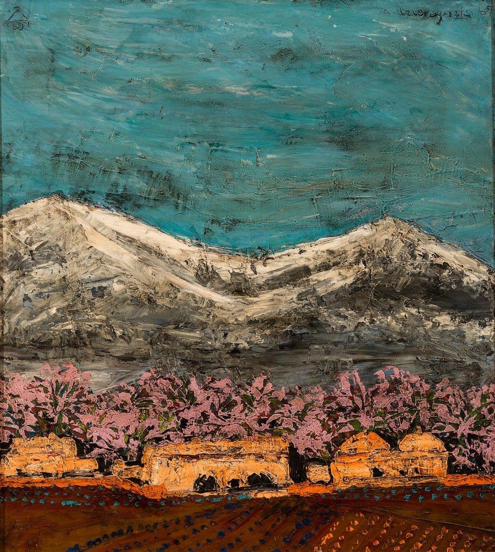 ANDRE DZIERZYNSKI (POLISH, BORN 1936)  In Persia