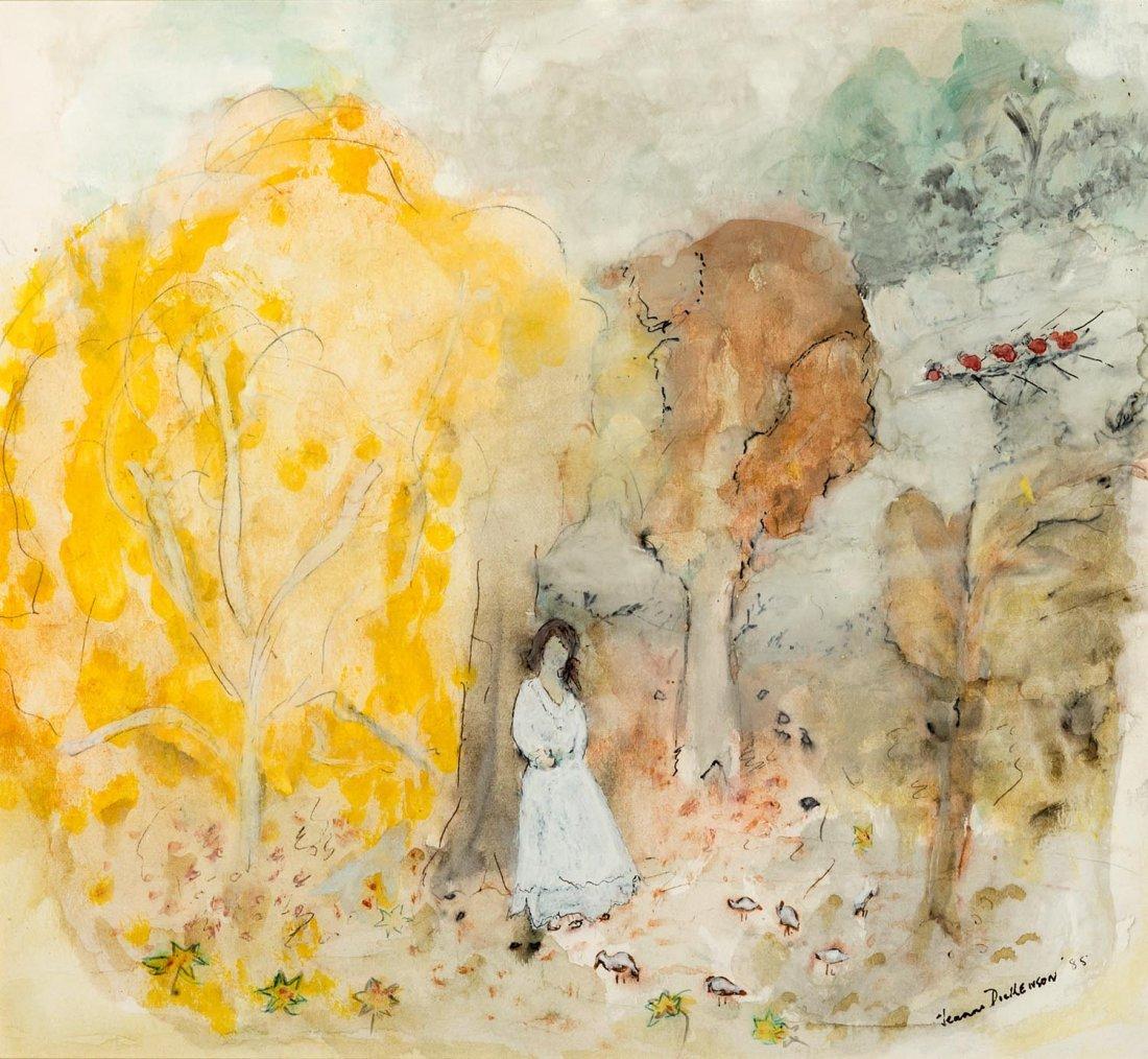JEANNE DICKENSON Untitled 1985