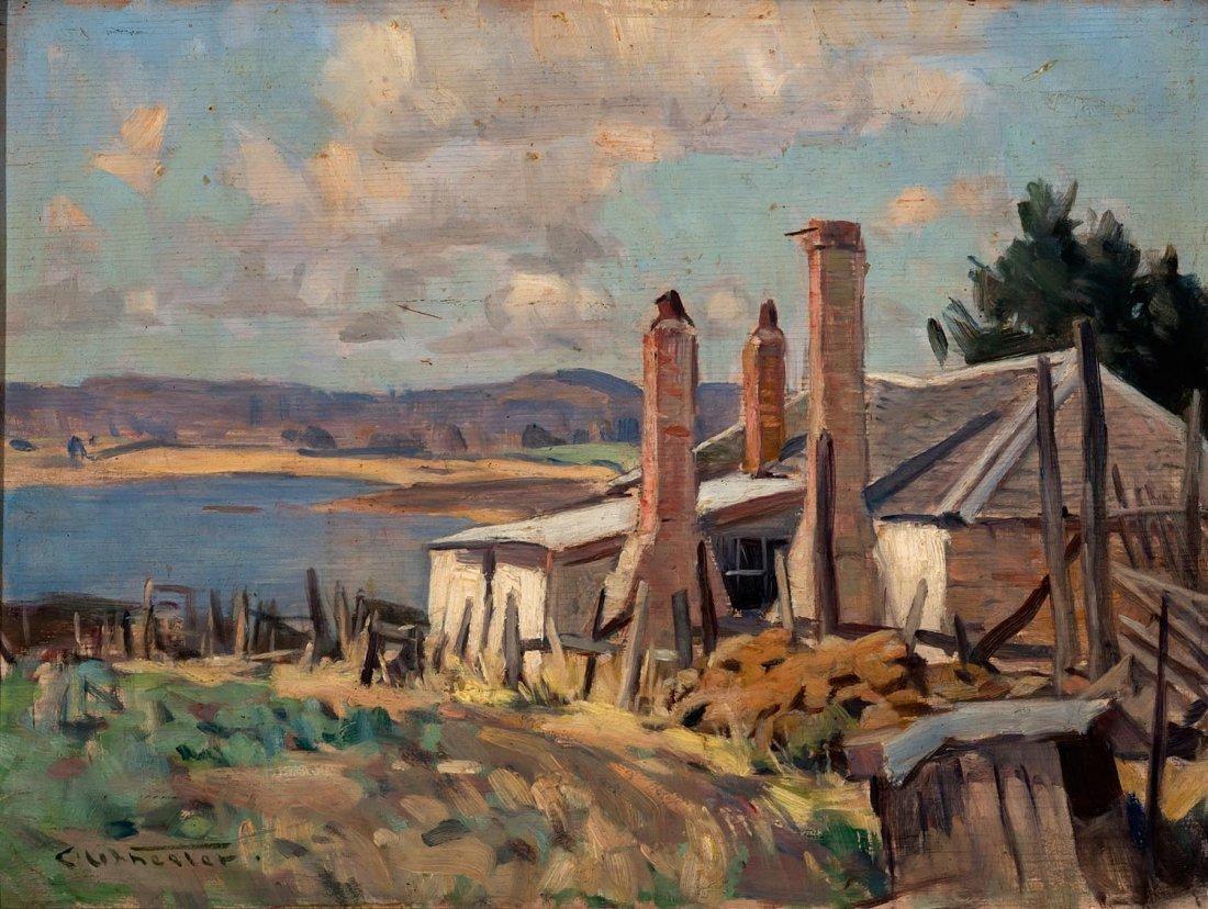 CHARLES ARTHUR WHEELER (1881-1977)  Oatlands, Tasmania