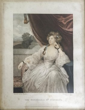 After Sir Joshua Reynolds The Honourable Mrs Stanhope