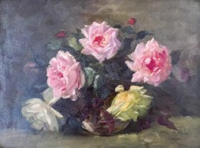 Elsie M Dennettmalahide Rosessigned With Initial And