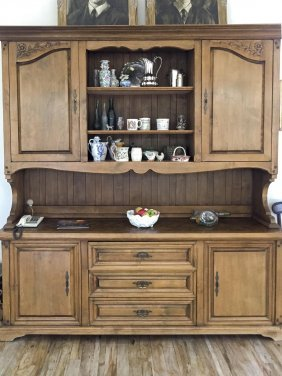 A Large French Provincial Style Fruitwood Dresser, 20th