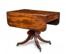 A Georgian Mahogany Drop Side Table