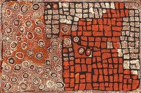 Naata Nungurrayi (born 1932) Untitled (marrapinti)