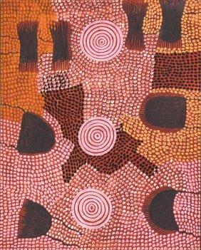 Billy Stockman Tjapaltjarri (born Circa 1927) Untitled