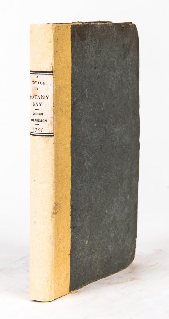 Barrington, George. A Voyage to Botany Bay with a