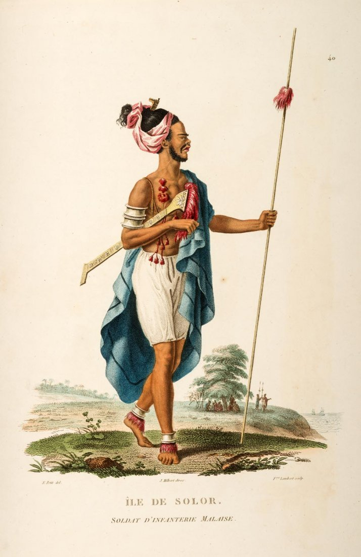 Baudin. Péron, François Auguste, Louis Claude de