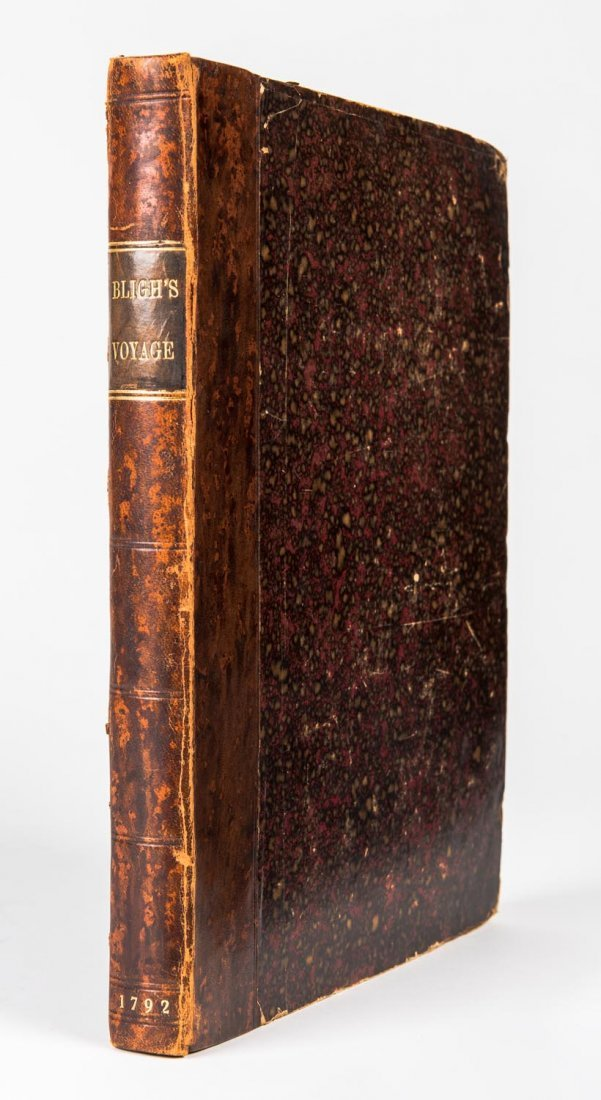 Bligh, Lieutenant William. A Voyage to the South Sea,