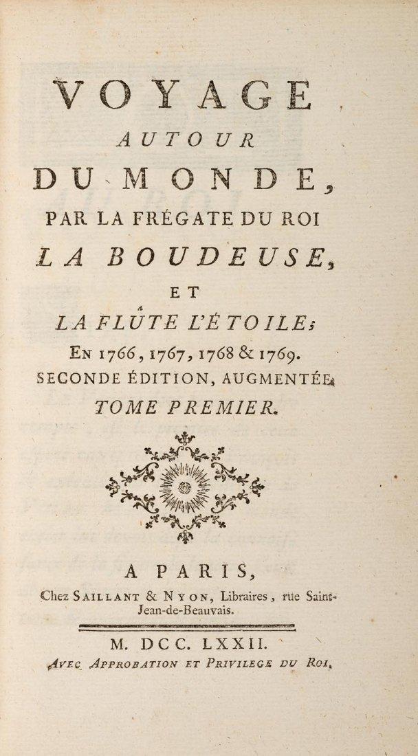 Bougainville, Louis Antoine de. Voyage autour du Monde,