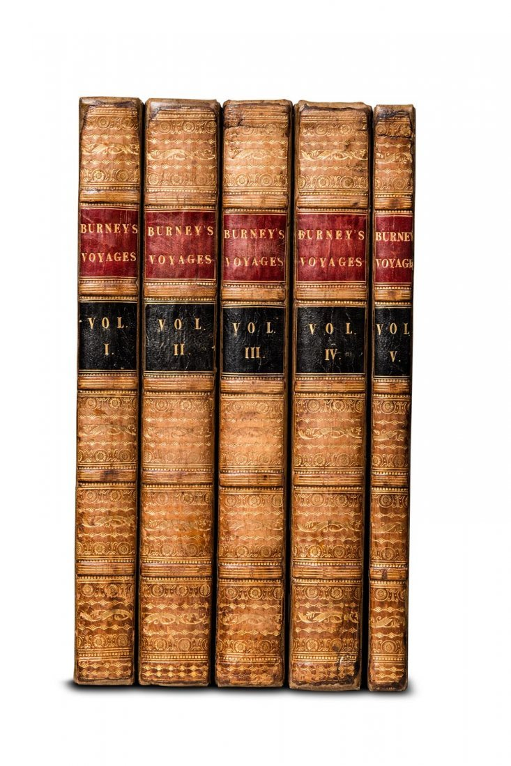 Burney, James. A Chronological History of the