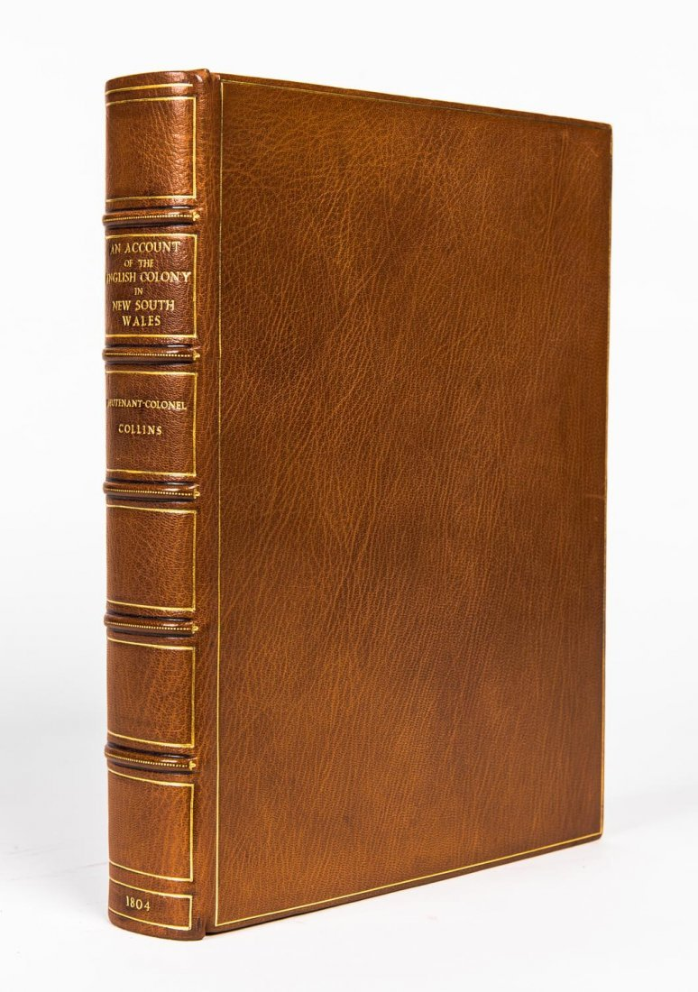Collins, David. An Account of the English Colony in New