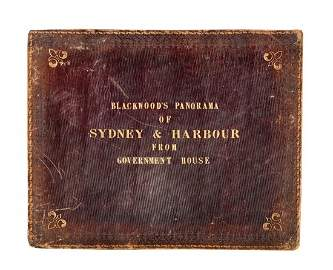 BLACKWOOD'S PANORAMA OF SYDNEY & HARBOUR FROM